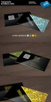Typography business card preview by kimi1122