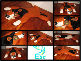 Scar 7ft (Simple) Beanie Baby / Pillow - Disney by Eternalskyy