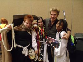Group with Vic Mignogna- Colossalcon 2014 by albertxlailaxx