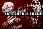 Hate doodle brush by Faeth-design
