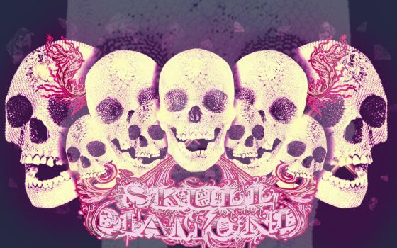 Skull Diamond by CleanYourAss