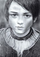 Arya Stark, Maisie Williams by bibivz
