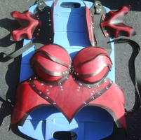Commission: Show Breastplate by Epic-Leather