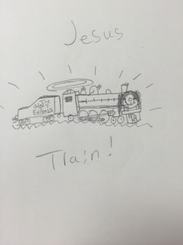 THE JESUS TRAIN by 123Chance