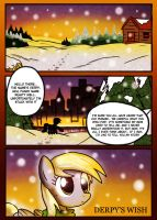 Derpy's Wish HD: Page 1 by NeonCabaret