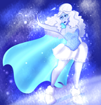 SS: Isis Queen the icy witch by LunaBell