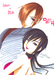 Leon X Ada by bloody-goodness