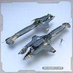 Space cruiser by PINARCI