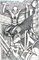 Spider-Man and Wolverine Pencils by CliffEngland