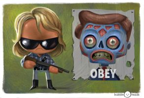 Bubblehead: They Live by JeffVictor