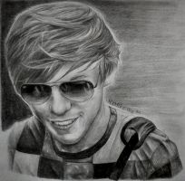 Louis Tomlinson by 1drawingGirl