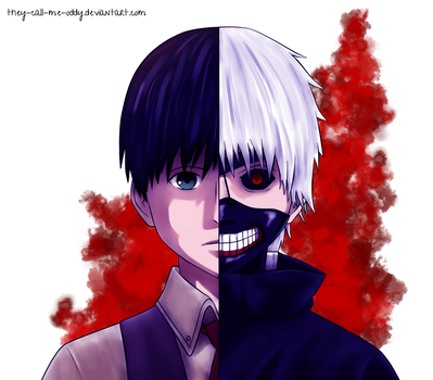 Kaneki | Tokyo Ghoul by They-Call-Me-Oddy