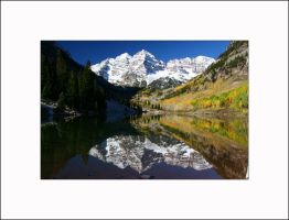 Maroon Lake and Maroon Bells by AcousticAlchemy