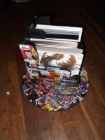 comic book holder (right) by Talia-Eye