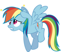 Dizzy Rainbow Dash by RelaxingOnTheMoon