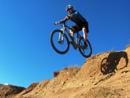 Mountain Biker 15214833 by StockProject1