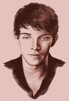 Colin Morgan by achelseabee