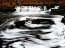 Swirling Waterfall by nectar666