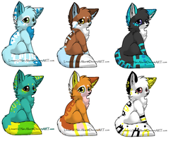 fox adopts by MooncloudKitty