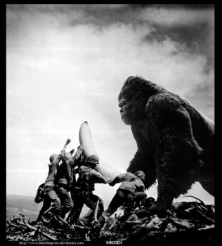 Appeasing the Ape God by macawnivore
