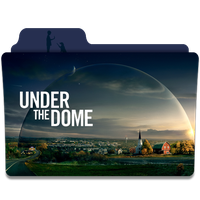 Under the Dome Folder Icon by efest