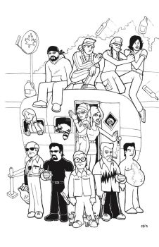 Trailer Park Boys by whipsmartbanky