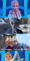 Jack and Elsa's Reaction to Jelsa by Storm-Grey