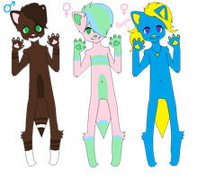 Anthro Adopts (OPEN) by SNlCKERS