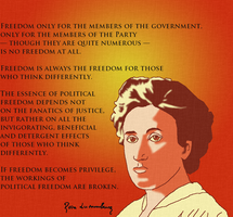 Role models: Rosa Luxemburg by DanielaLaverne