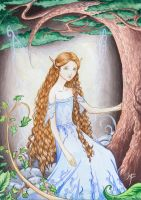 forest faerie by Lythilien