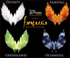 Fantassia Fractal Wings Pack by AlexDewain