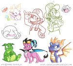 Dragons and Plummers by ZombiDJ