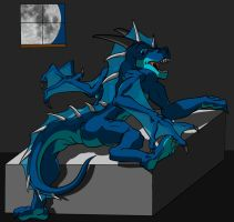 Dragon In Bed by tfproxy