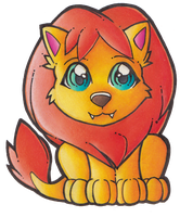 Neopets - Noil Petpet by heatbish