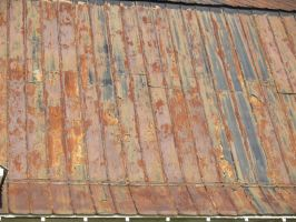 Rusty Roof by Irie-Stock