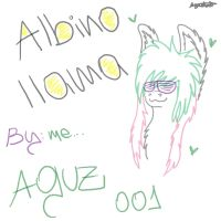 My albiino llama. She name is Binoal Malla xD by Aguz001