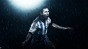 Messi by Furi0us14