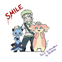 SMILE - Pitch Black Nuzlocke Fan Art by Yamikaisu