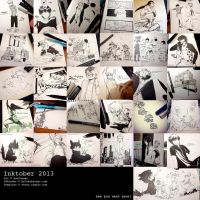 INKtober 2013 collection by deeJuusan