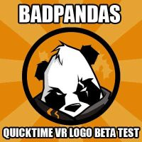 BadPandas QVR Logo Beta by DarkNova666