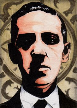 257. H.P. Lovecraft by Christopher-Manuel