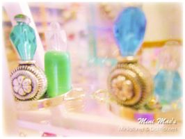 Perfume Bottles by MiniMaes