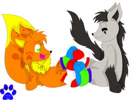 GA: Sharing Sockies by Marquis2007