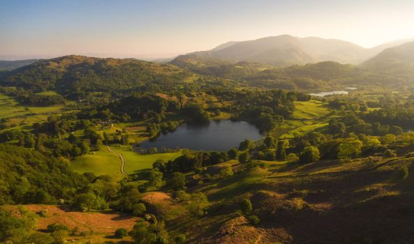 Loughrigg Summer by scotto