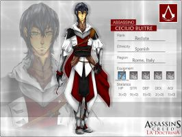 AC:D Cecilio Buitre by MAPle-meg