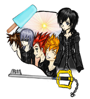 Xion's short life by Chibi-Isse