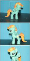 FOR SALE: Lightning Dust Custom G4 Pony by EmR0304