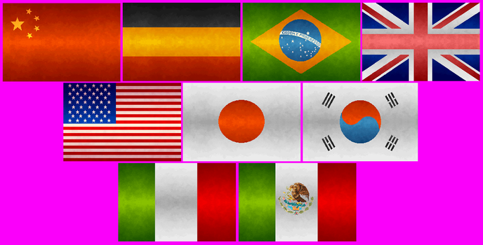 The flags by melcore89