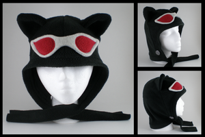 Catlady cowl with goggles by eitanya