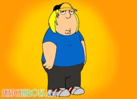 Chris Griffin of Family Guy by SketchHeroes